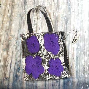 Andy Warhol flowers tote bag